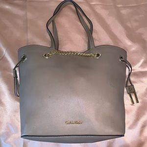 Calvin Klein Beige Handbag